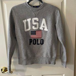 Polo Ralph Lauren USA Sweatshirt- sz small